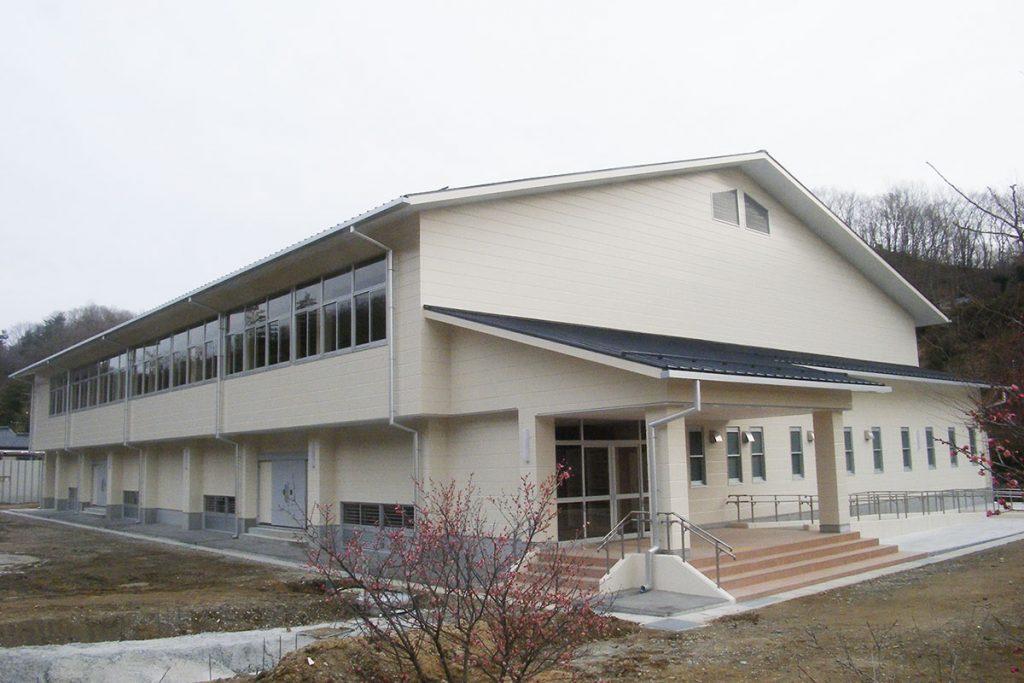 いわき市立湯本第三中学校屋内運動場改築工事