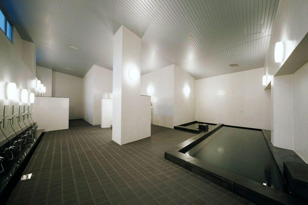 平競輪場選手宿舎浴室