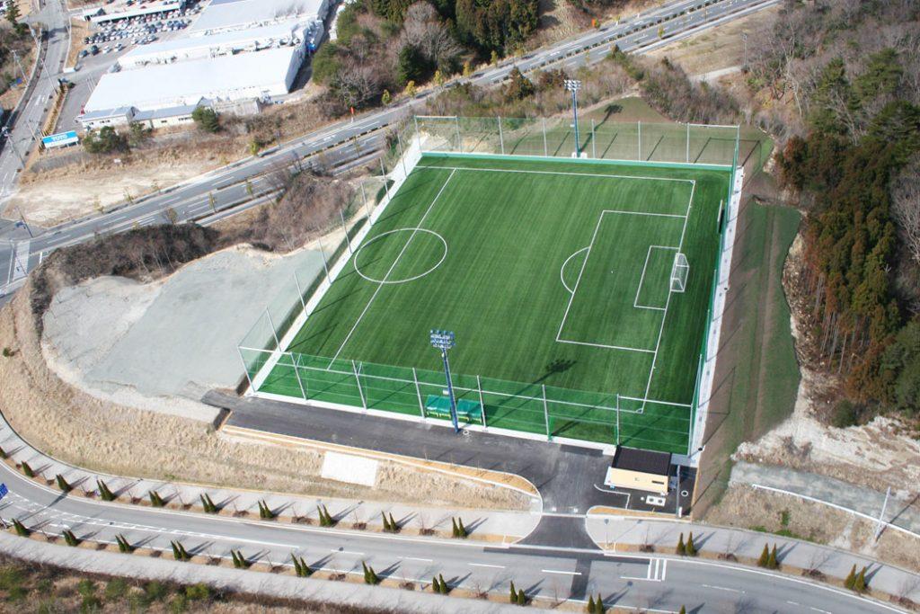 中高一貫教育施設女子サッカーグランド