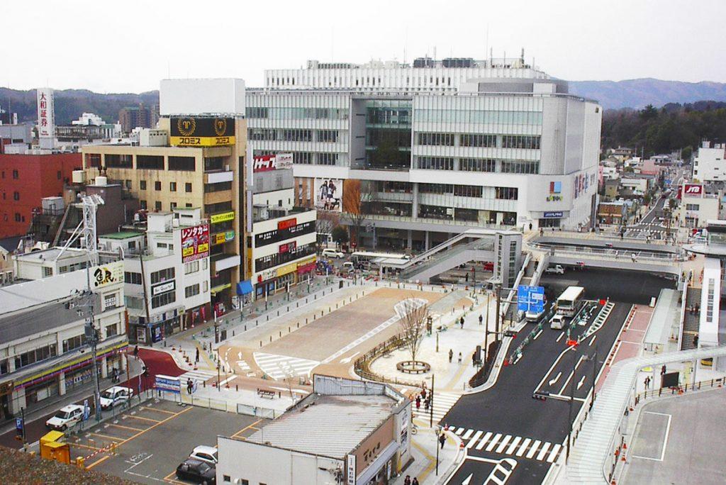 いわき駅前広場