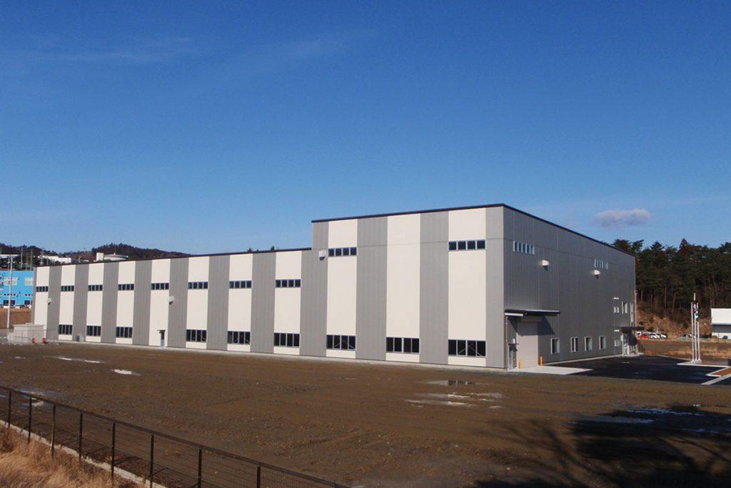 日本化学産業(株)福島第二工場第一期工事
