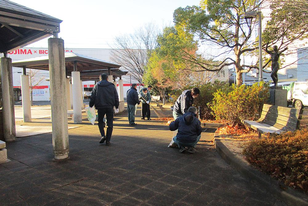 小太郎町公園清掃