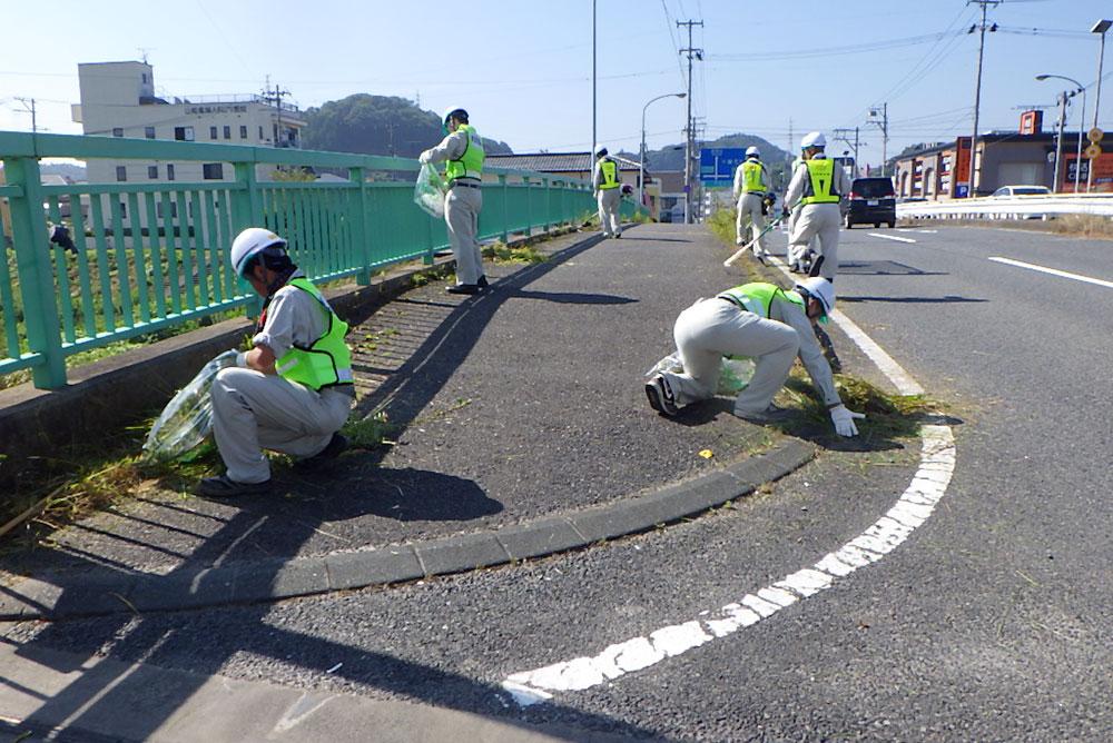 道路美化清掃